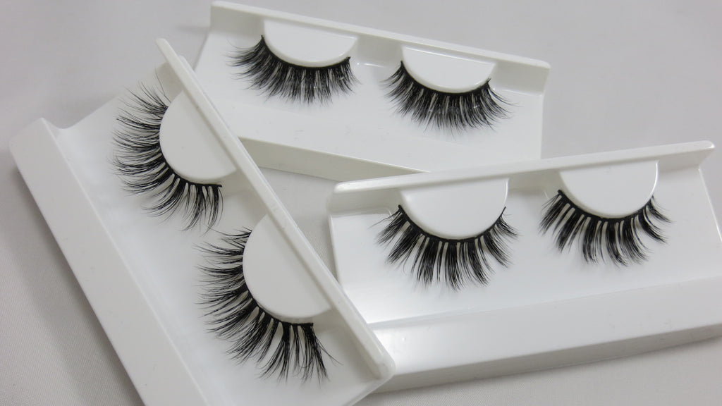 New Multilayered Mink false eyelashes added!