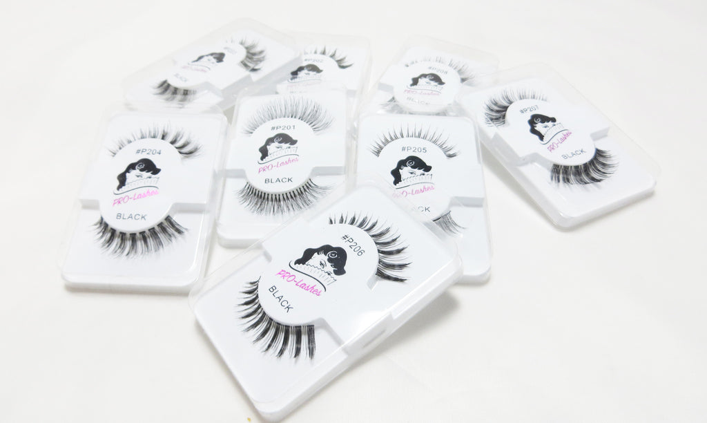 Human Hair lashes collection released- The favourite for Make-Up Artists!