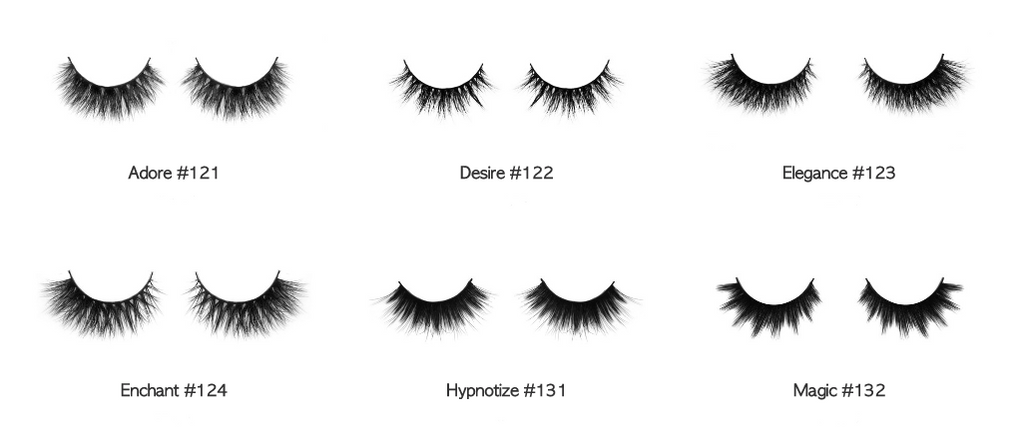 Gorgeous Glam Collection - 3D Mink Lashes Collection