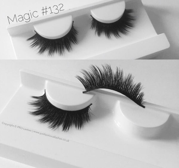 Magic #132 3D Silk Eyelashes - PRO-Lashes