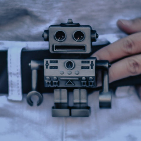 Robot Belt Buckle