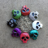 Resin Skull Necklace - Made to Order
