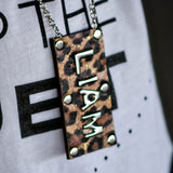 Reversible Dog Tag Necklace