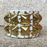 Go for the Gold Studded Cuff
