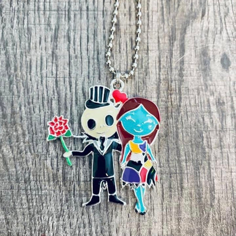 Jack & Sally Necklace
