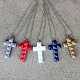 Resin Cross Necklace