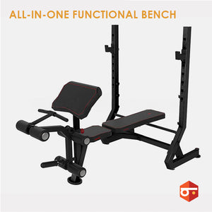 New All-in-One Functional Weight Bench