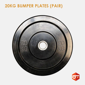 New 20kg Bumper Plate Set (Pair)
