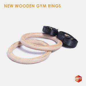 New Wooden Gym Rings