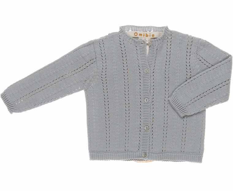 OMIBIA Elyonor Cardigan - Misty Grey