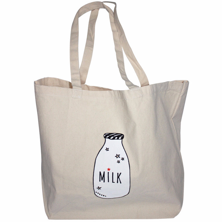 ANNABEL KERN Shopping Bag - Milk