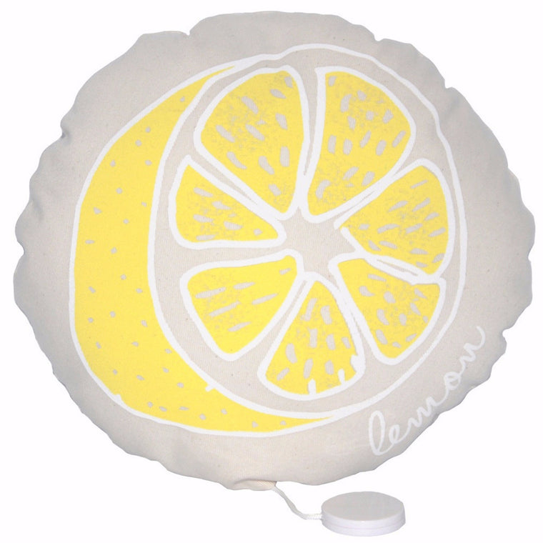 ANNABEL KERN Musical Soft Cushion - Lemon