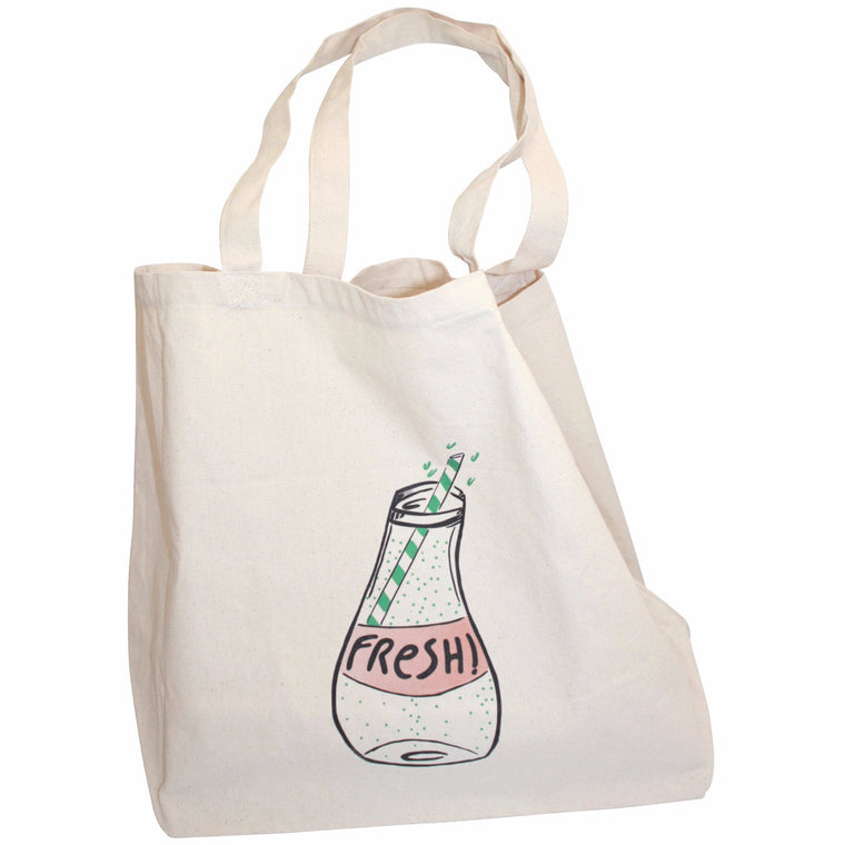 ANNABEL KERN Shopping Bag - Fresh