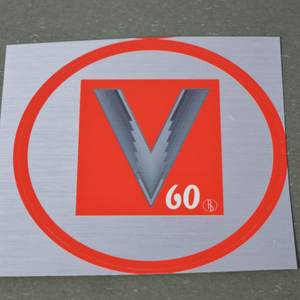 Load image into Gallery viewer, V60 Vinyl Sticker