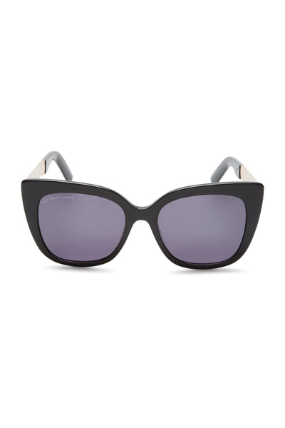 Patsy Cat-eye Acetate Sunglasses - Black