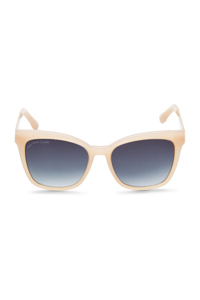 Cat-eye Peach Acetate Sunglasses
