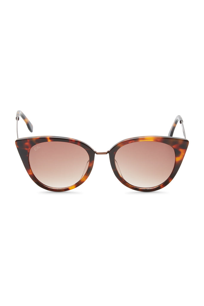 Olivia Cat-eye Acetate Sunglasses - Tortoiseshell