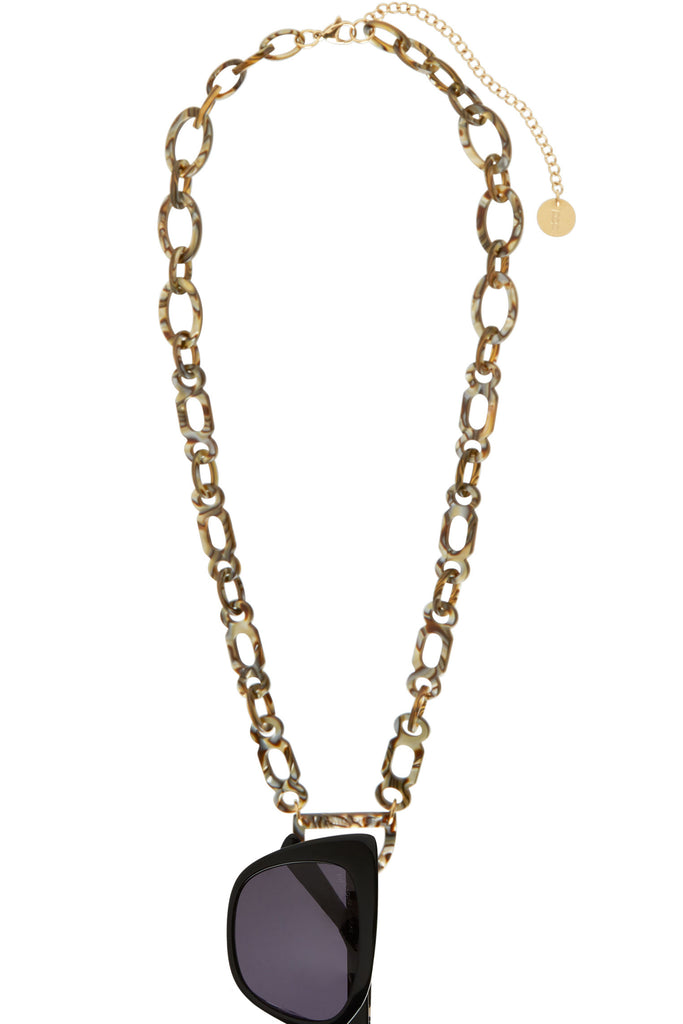 Original D Necklace - N°1 Tiger Onyx Glasses Chain
