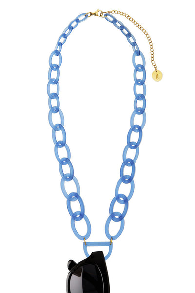 Original D Eyewear Necklace - N°3 Cornflower Blue Glasses Chain