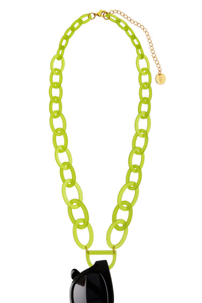 N°3 Lime Punch Eyewear Necklace