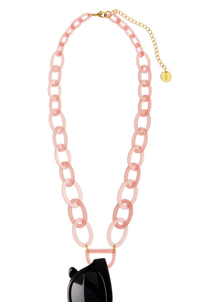 N°3 Rose Quartz Eyewear Necklace