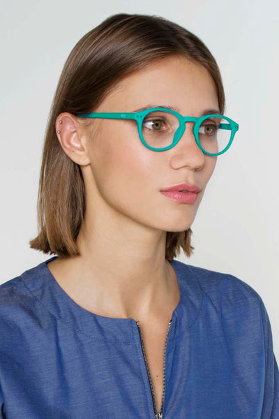 Devon Unisex Reading Glasses - Seafoam Green