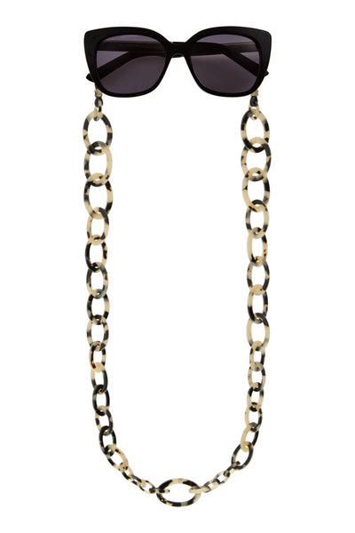 Smiley Big Eyeglasses Chain - Light Tokyo