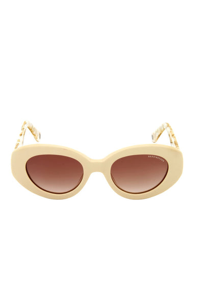 Audrey Pearl Beige Sunglasses