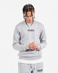 OG Small Logo Sweat - Heather Grey/Black