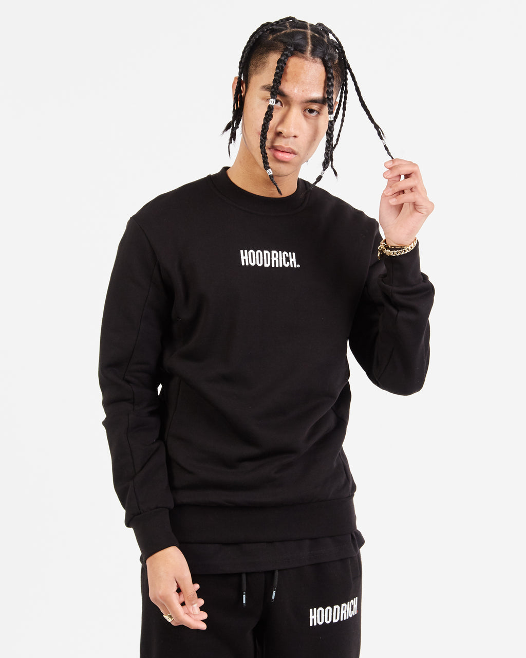 OG Small Logo Sweat-Black/White