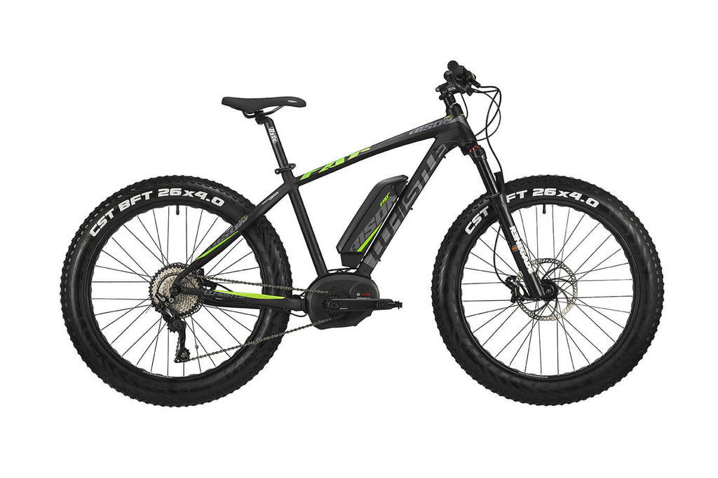 Bicicletta Elettrica Whistle MTB FAT Bison Gen2 - 2020