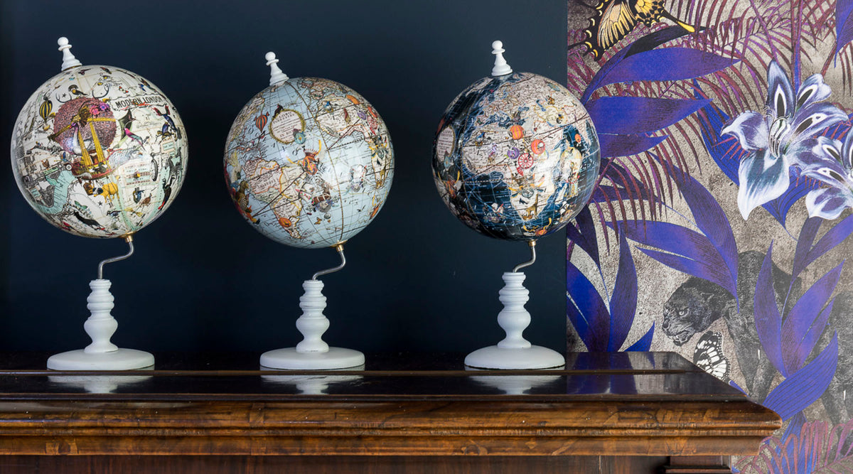 Globes by Kristjana S Williams Interiors