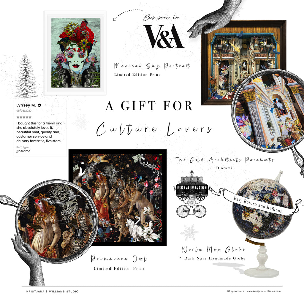 A gift for culture lovers by artist Kristjana S Williams