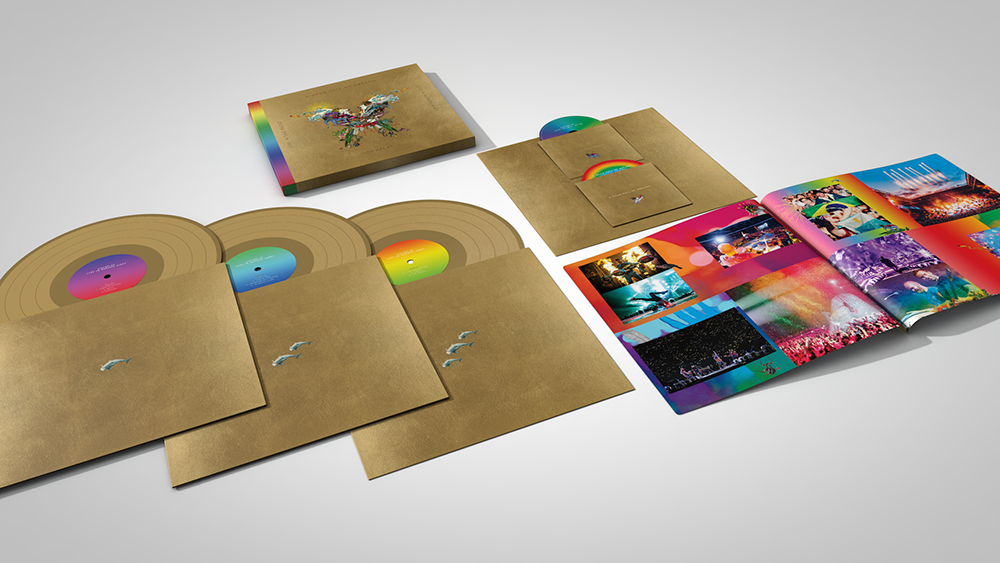 Artwork for Coldplay's new album A Head Full of Dreams: Live in Buenos Aires and Live in Sao Paulo