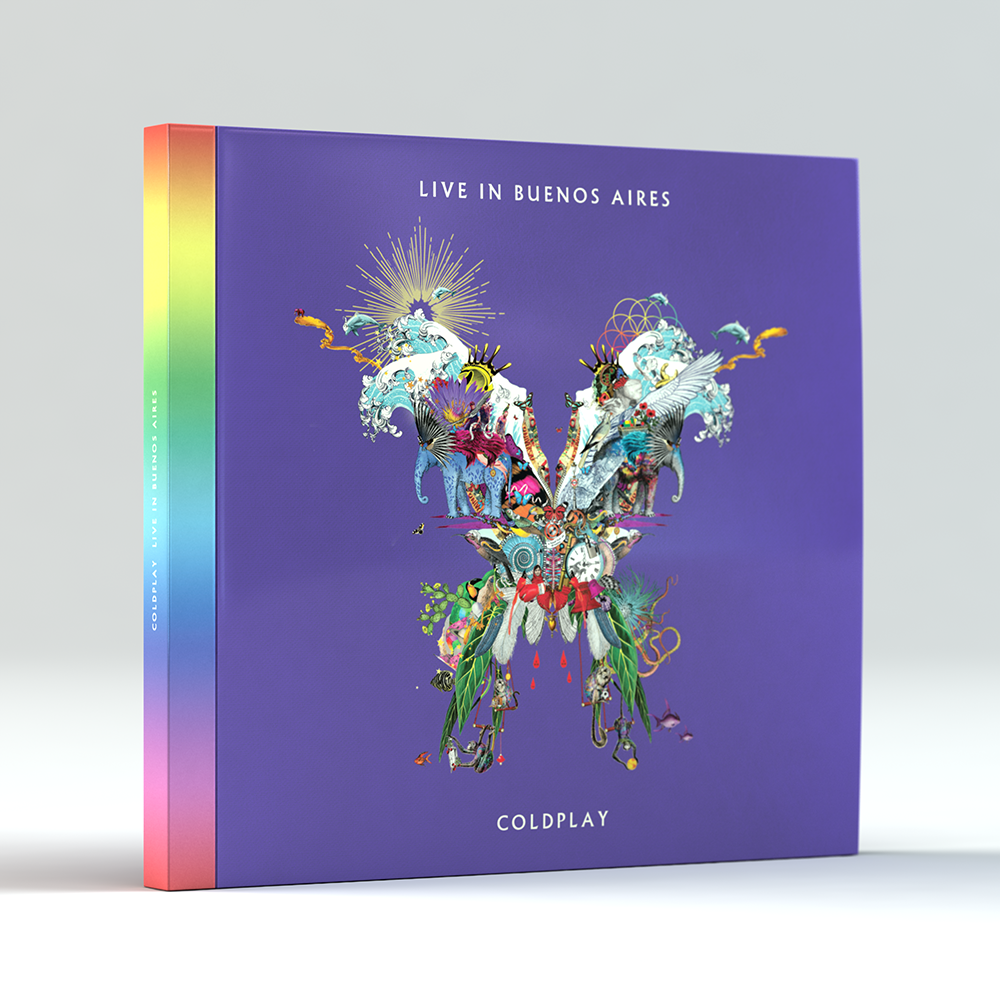 The album cover for Coldplay's latest album A Head Full of Dreams by Icelandic artists Kristjana S Williams