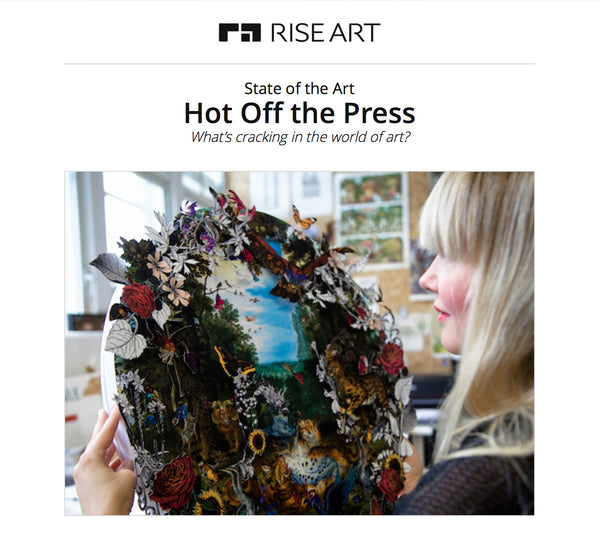 Rise Art Press interview with artist Kristjana S Williams