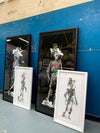 White Skeletons - Art Print Collection - Kristjana S Williams Studio