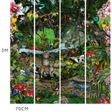 The Amazon Rain Forest Wall Mural - Kristjana S Williams Studio
