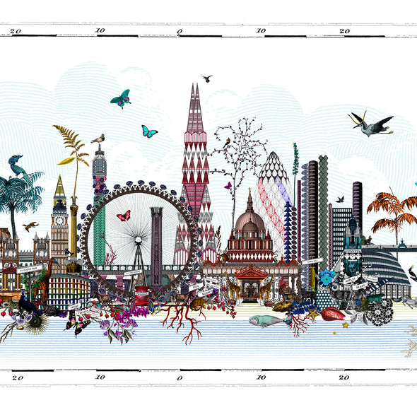 Arkitektur Lunduna Skyline - Art Print - Kristjana S Williams Studio