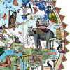 Austur Elephant London - Art Print - Kristjana S Williams Studio