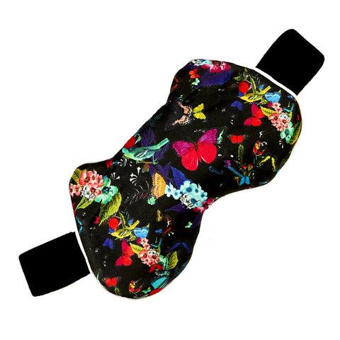 Sleep mask - Bird&Butterfly Detail