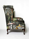 Wonder Garden Adult Armchair - Black Forest