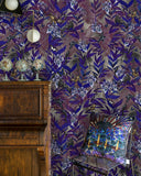 Blue Palms Wall Mural - Kristjana S Williams Studio