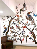 White Branches Wallpaper Mural
