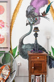 Giant Ostrich Green Botanical Wall Mural
