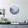 Fiskur Ne Thari - Circular Sea-born - Art Print - Kristjana S Williams Studio