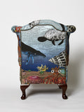 Wonder Garden Children's Armchair - Great Barrier Rief - Kristjana S Williams Studio