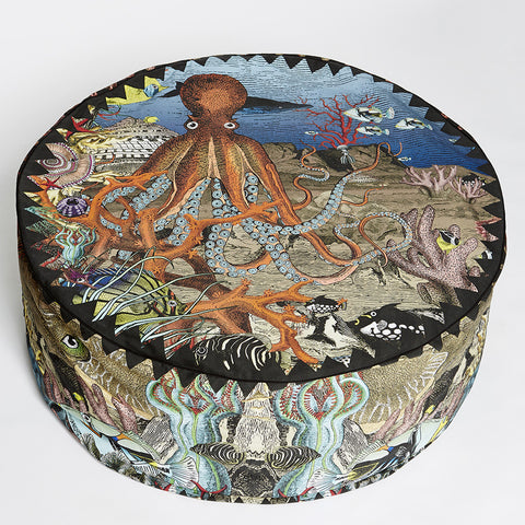 Wonder Garden Pouffe - Great Barrier Reef