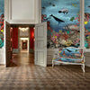 The Great Barrier Reef Wall Mural - Kristjana S Williams Studio
