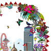 London Hringlaga Trilogy - East - Art Print - Kristjana S Williams Studio